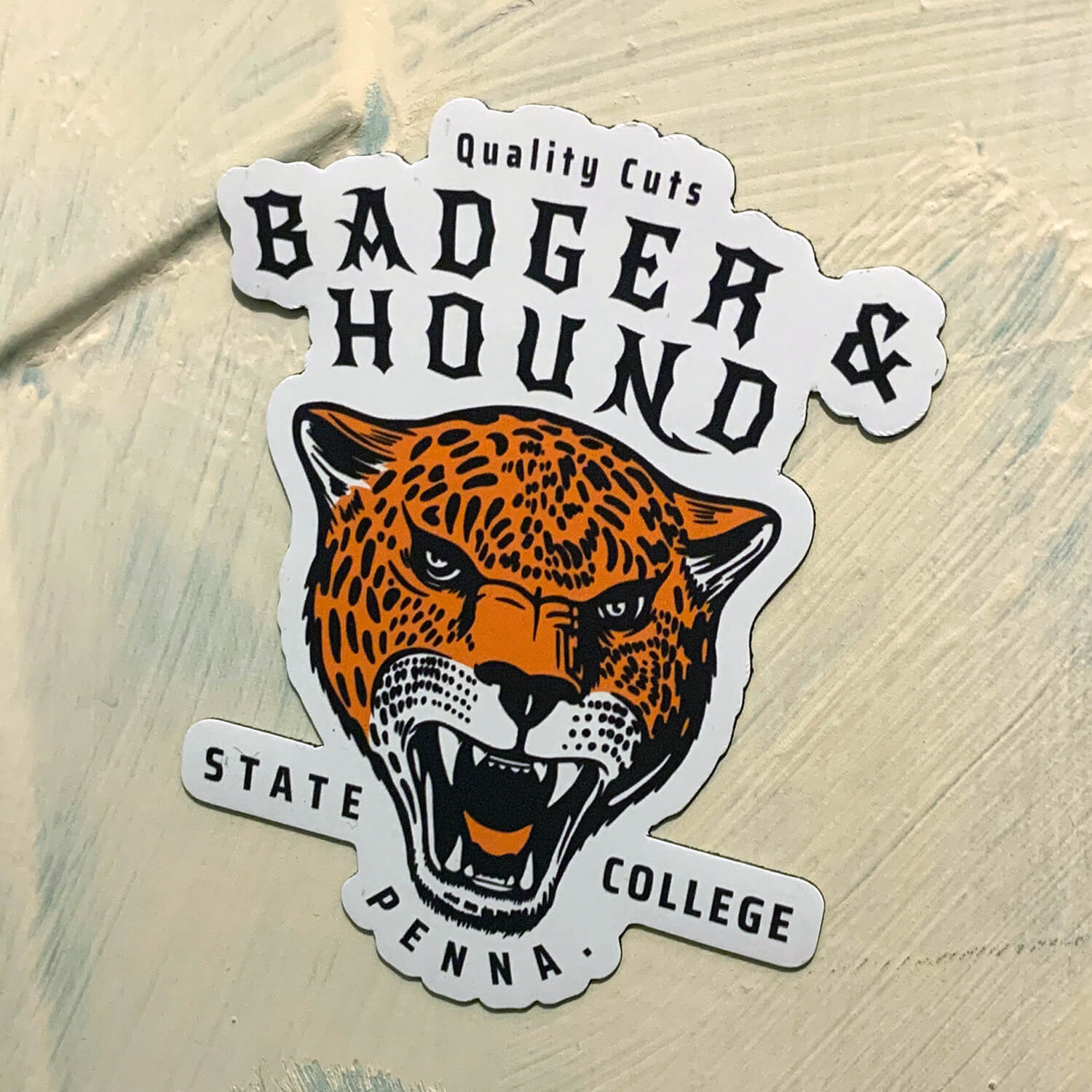 Badger & Hound Stickers & Swag